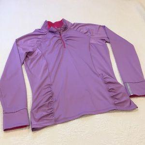 Athleta half zip running jacket size medium